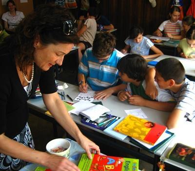 Unterrichts-Projekt in Rumänien