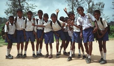 Englisch-Unterricht in Sri Lanka