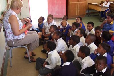Unterrichten in Südafrika