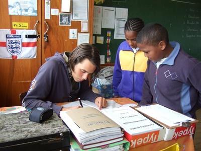 Unterrichts-Projekt in Südafrika