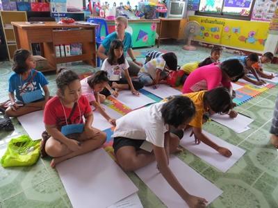 Freiwilligenarbeit im Unterrichts – Projekt in Thailand