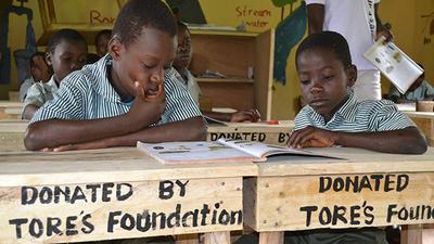 Die Tore's Foundation setzt sich in der Akokoa Village Gemeinde in Ghana für Bildung und Demokratieförderung ein.
