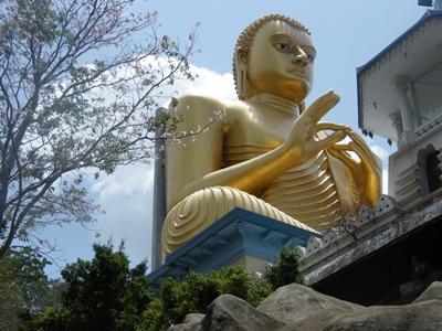 Buddha-Statue in Sri Lanka