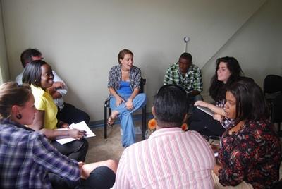 Alphabetisierungs-Projekt auf Jamaika