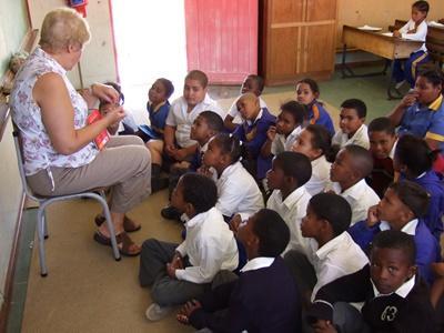 An Grundschulen in Südafrika unterrichten