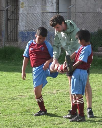 Sport unterrichten in Peru