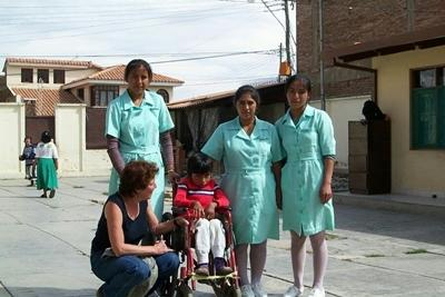 Ergotherapie in Bolivien