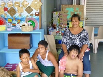 Ergotherapie in Samoa
