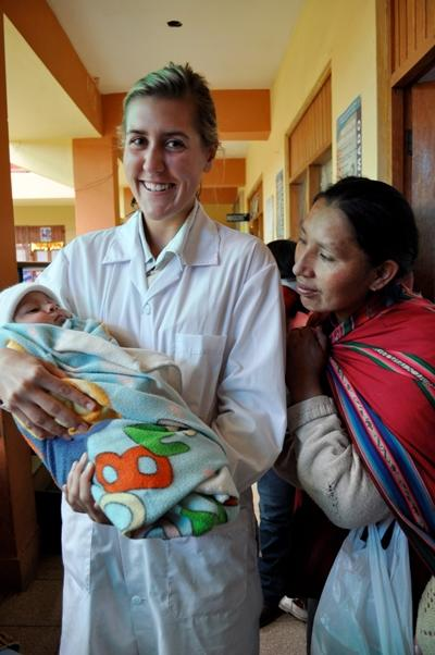 Geburtshilfe in Peru
