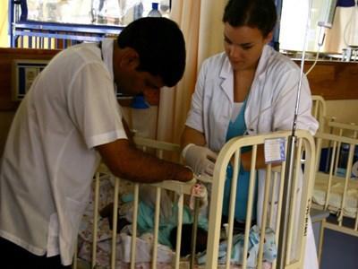 Krankenpflege in Peru