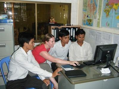 Journalismus-Praktikum Kambodscha
