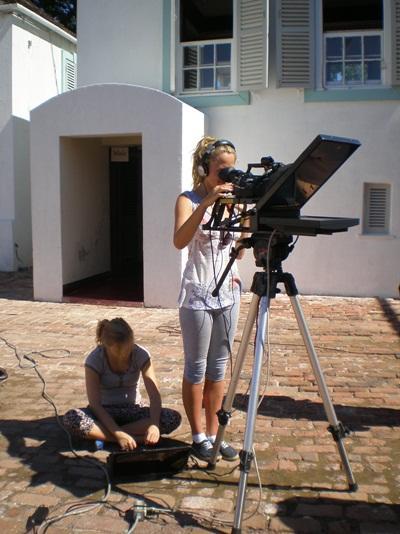 TV - Produktion auf Jamaika