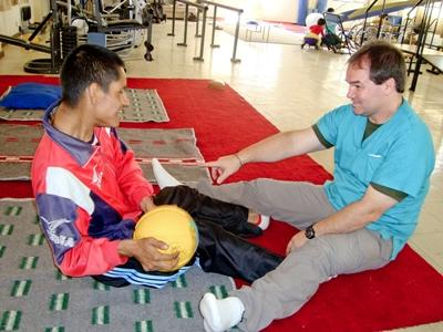 Physiotherapie in Bolivien