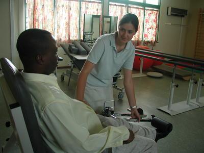 Freiwilligeneinsatz für Physiotherapeuten in Ghana