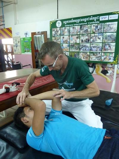 Physiotherapie in Kambodscha