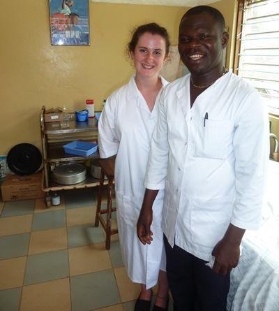 Freiwillige im Psychologie - Projekt in Togo