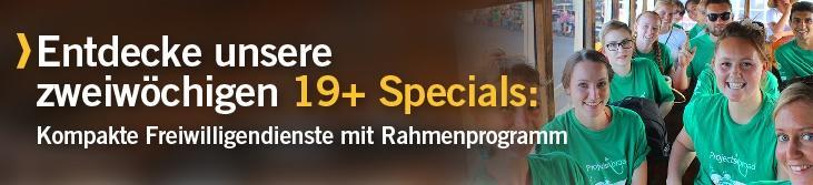 19+ Specials