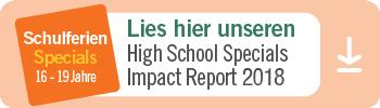 High School Specials Impact Report 2016