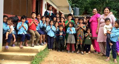 SmithCorp Charitable Trust beim corporate volunteering in Nepal