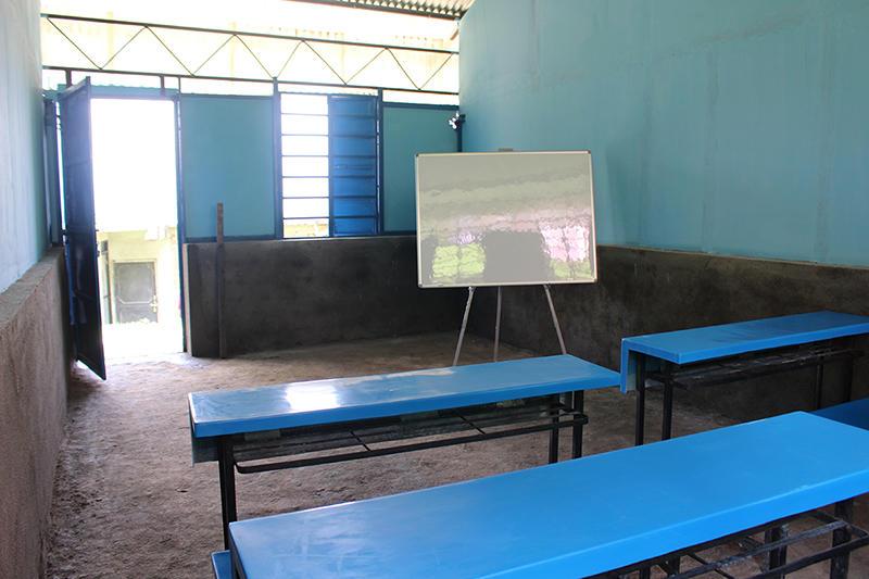 Die Schule wurde dank unserer Freiwilligen und Firmengruppen fertiggestellt