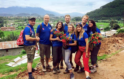 SmithCorp Charitable Trust auf corporate volunteering – Reise in Nepal