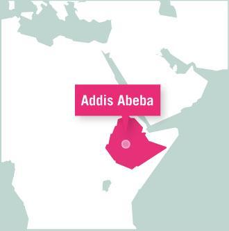 Map of Äthiopien