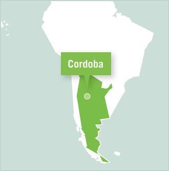 Map of Argentinien