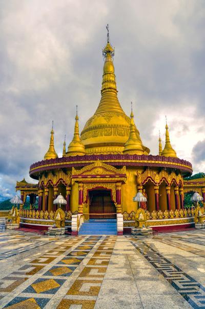 Hindu Tempel im Zielland Bangladesch