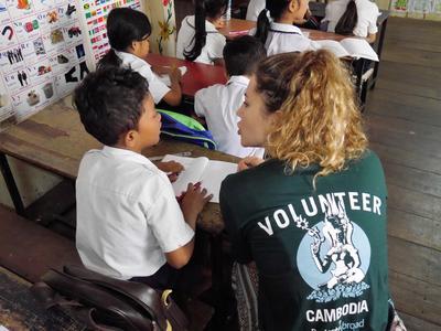 Mit Sprachkenntnissen in Khmer kannst du dich leichter mit den Menschen in deinem Freiwilligenprojekt verständigen.