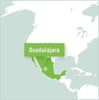 Map of Mexiko