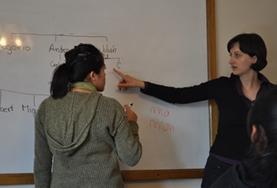 In Peru wirst du von qualifizierten Sprachlehrer/innen in Quechua unterrichtet, die sich an dein individuelles Lerntempo anpassen.